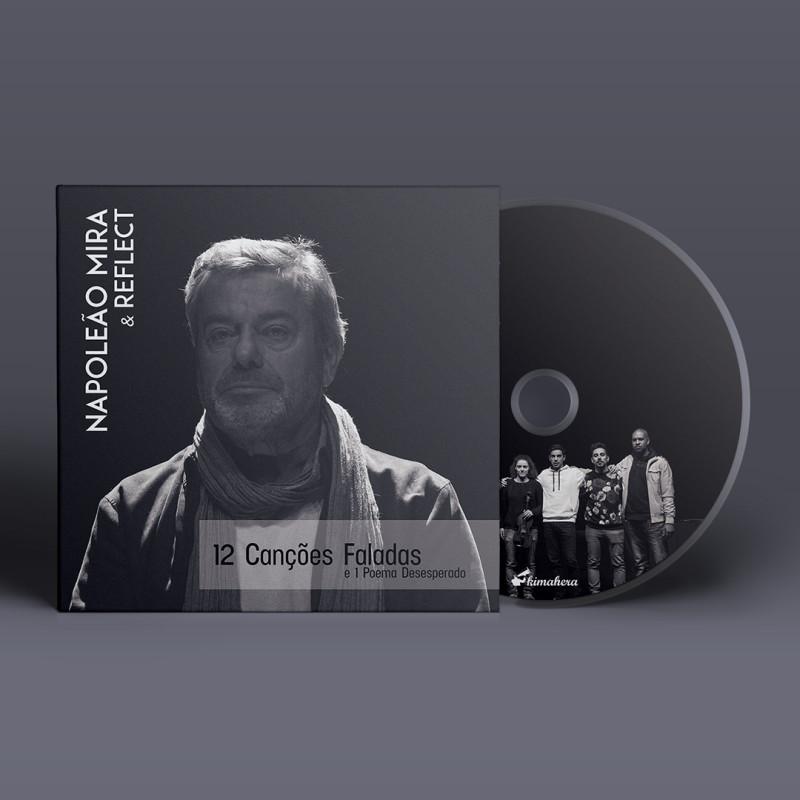 CD Digipack contendo booklet de 32 páginas
